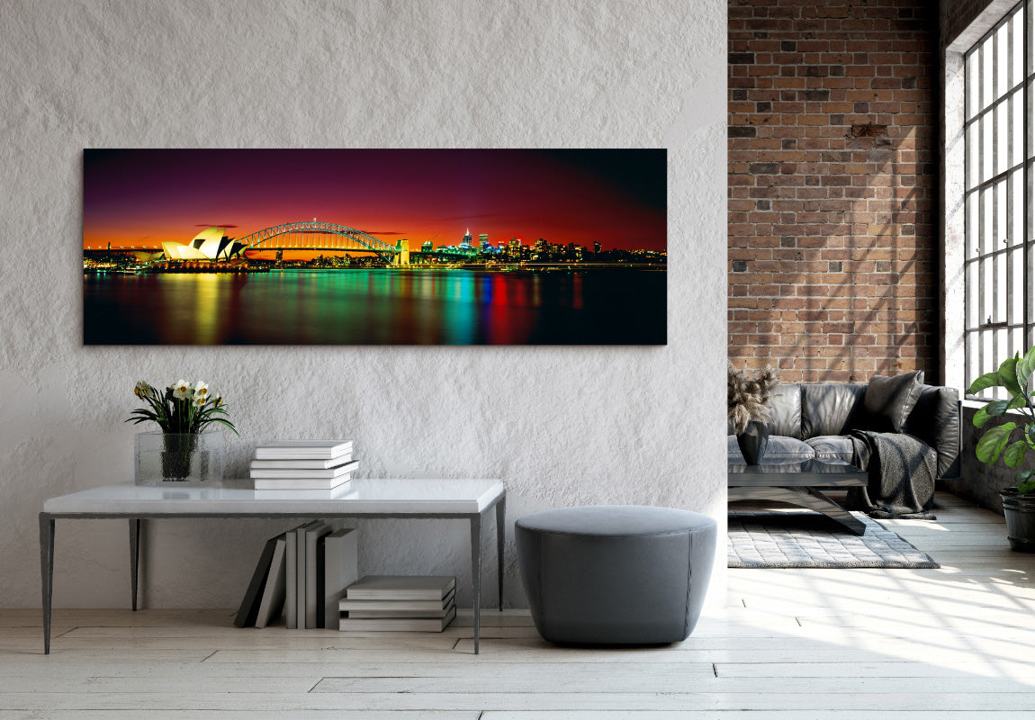 Harbour Reflections in Home