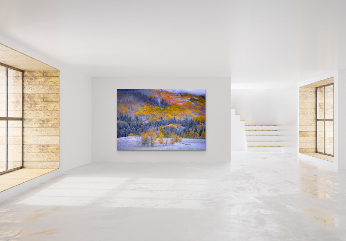 Painted Mountain in Home