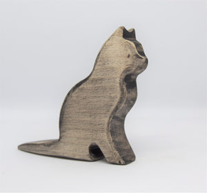 Wooden Black Cat - Eric & Albert's Crafts