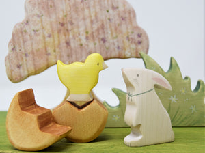 Special Edition Wooden Easter Bunny - Eric & Albert
