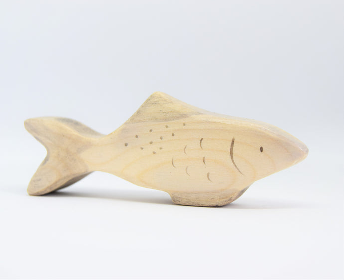 Wooden Silver Fish - Eric & Albert's Crafts
