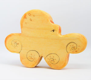 Wooden Octopus - Eric & Albert's Crafts