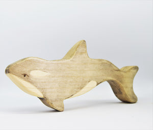 Wooden Orca Calf - Eric & Albert's Crafts