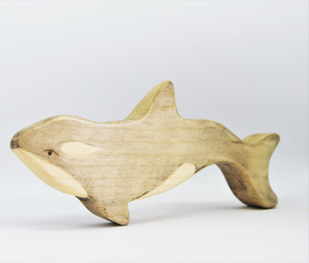 Wooden Orca Calf - Eric & Albert