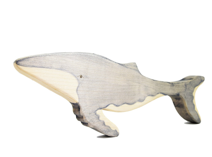 Wooden Humpback Whale - Eric & Albert