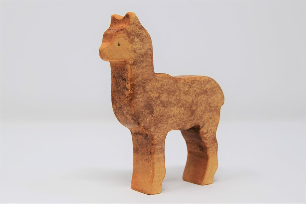 Wooden Alpaca - Eric & Albert's Crafts