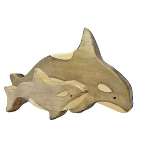 Wooden Orca - Eric & Albert's Crafts