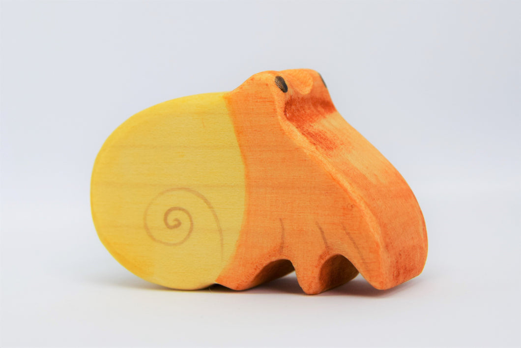 Wooden Hermit Crab - Eric & Albert's Crafts