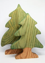 Wooden Small Fir Tree - Eric & Albert's Crafts