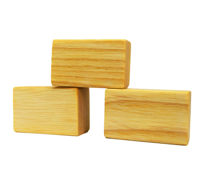 Wooden Straw Bales (set of 3) - Eric & Albert's Crafts