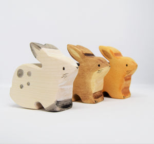 Wooden Rabbit - Eric & Albert's Crafts