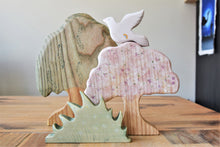 Special Edition Wooden Rainbow Dove - Eric & Albert