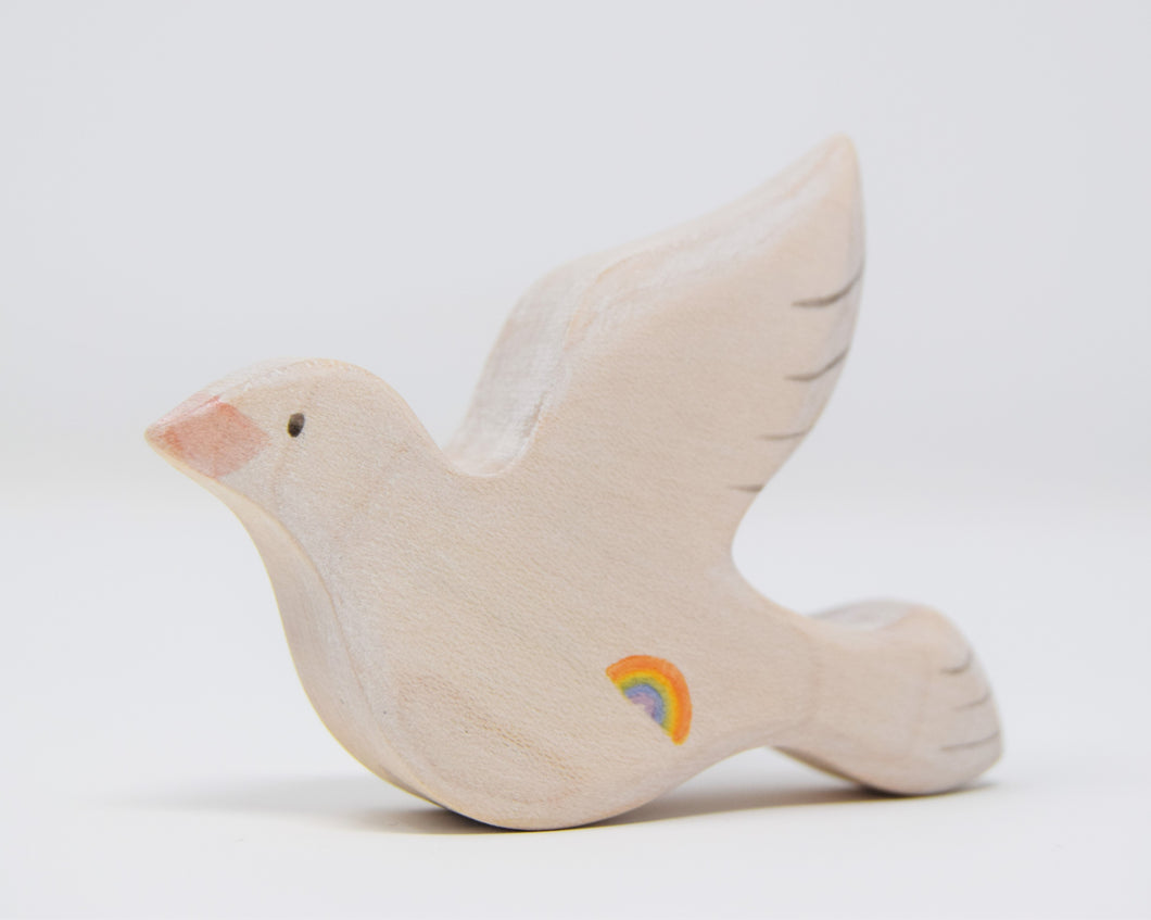 Special Edition Wooden Rainbow Dove - Eric & Albert's Crafts