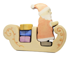 Wooden Father Christmas' Sleigh - Eric & Albert's Crafts