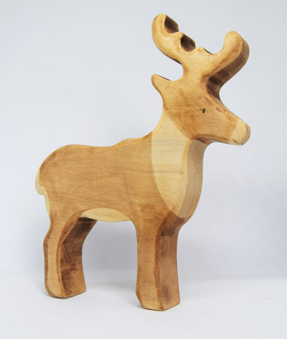 Wooden Reindeer - Eric & Albert's Crafts