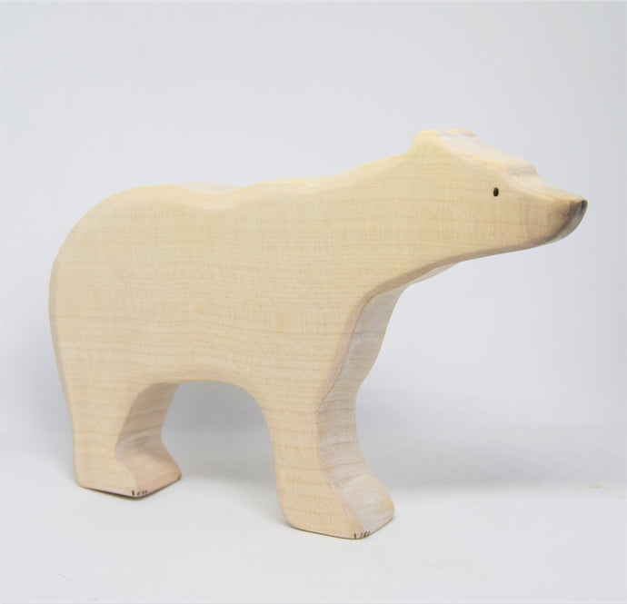 Large Wooden Polar Bear - Eric & Albert's Crafts