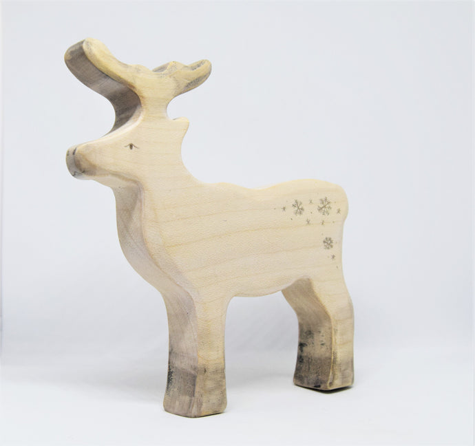 Special Edition Wooden Reindeer - Eric & Albert's Crafts