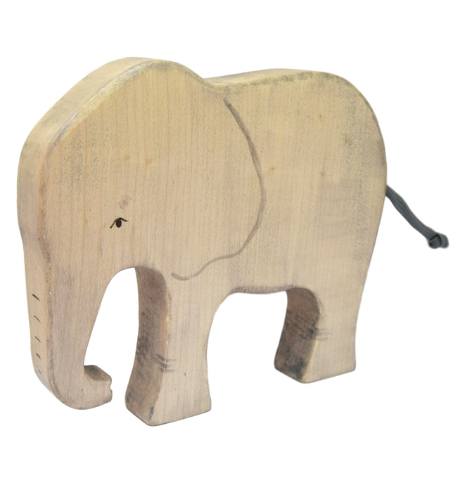 Wooden Elephant - Eric & Albert's Crafts