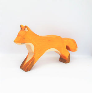 Wooden Running Fox - Eric & Albert
