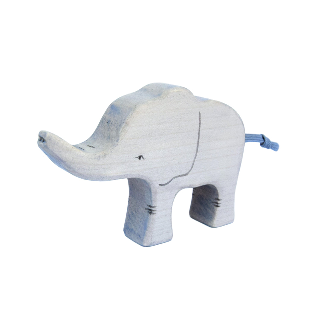 Wooden Elephant Calf - Eric & Albert