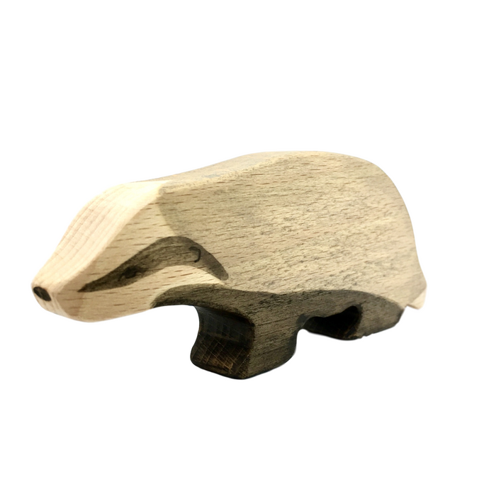 Wooden Badger - Eric & Albert's Crafts