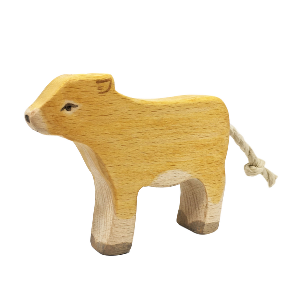 Wooden Jersey Calf - Eric & Albert's Crafts