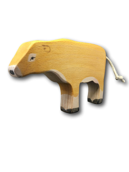 Wooden Jersey Cow