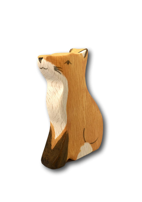 Wooden Fox - Eric & Albert's Crafts