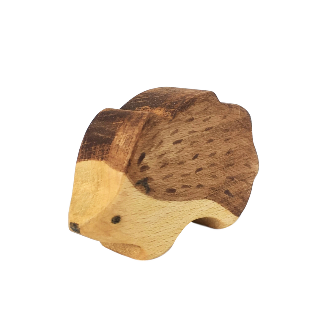 Wooden Hedgehog - Eric & Albert