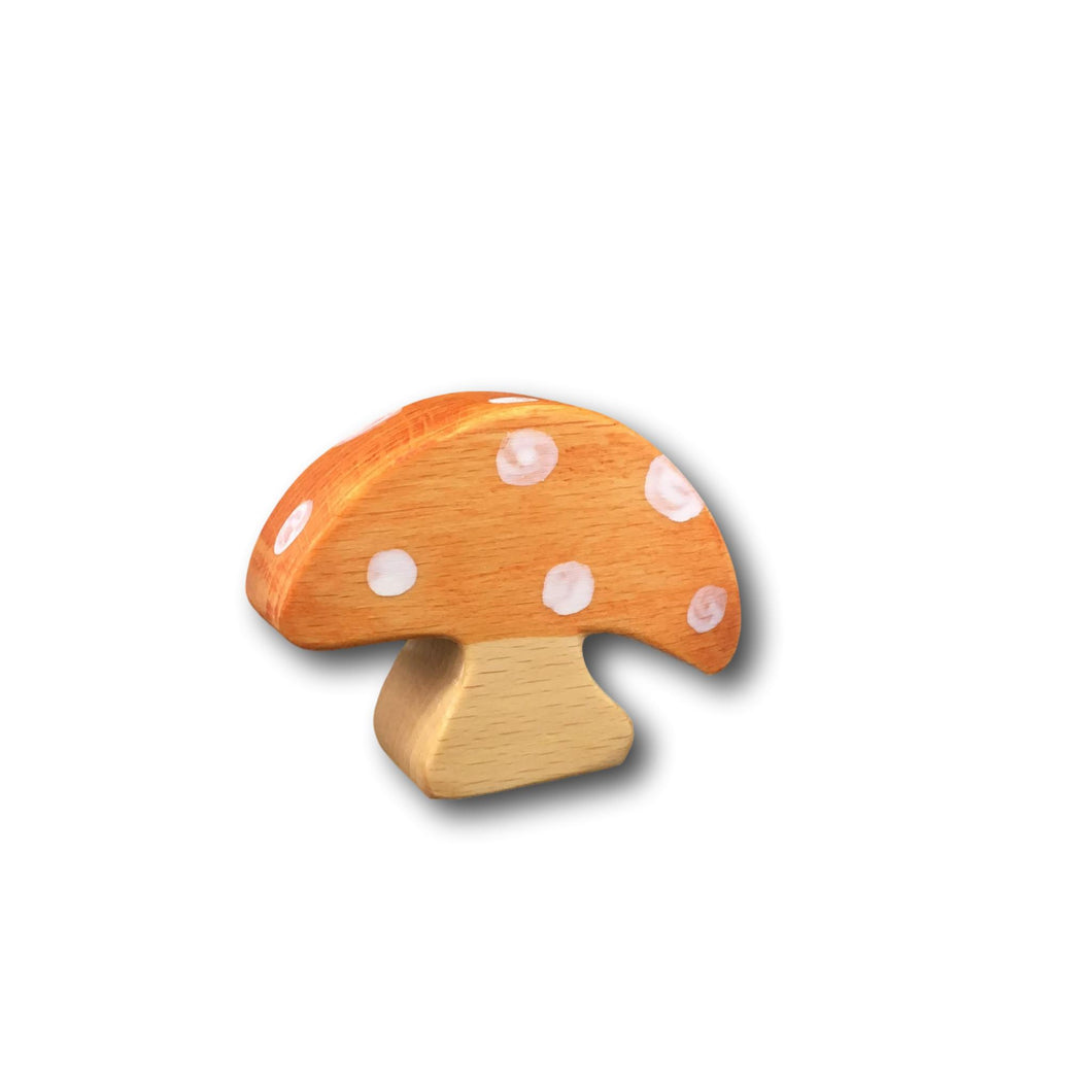 Wooden Toadstool - Eric & Albert's Crafts