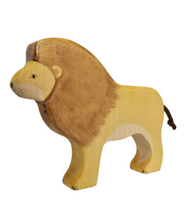 Wooden Lion - Eric & Albert's Crafts