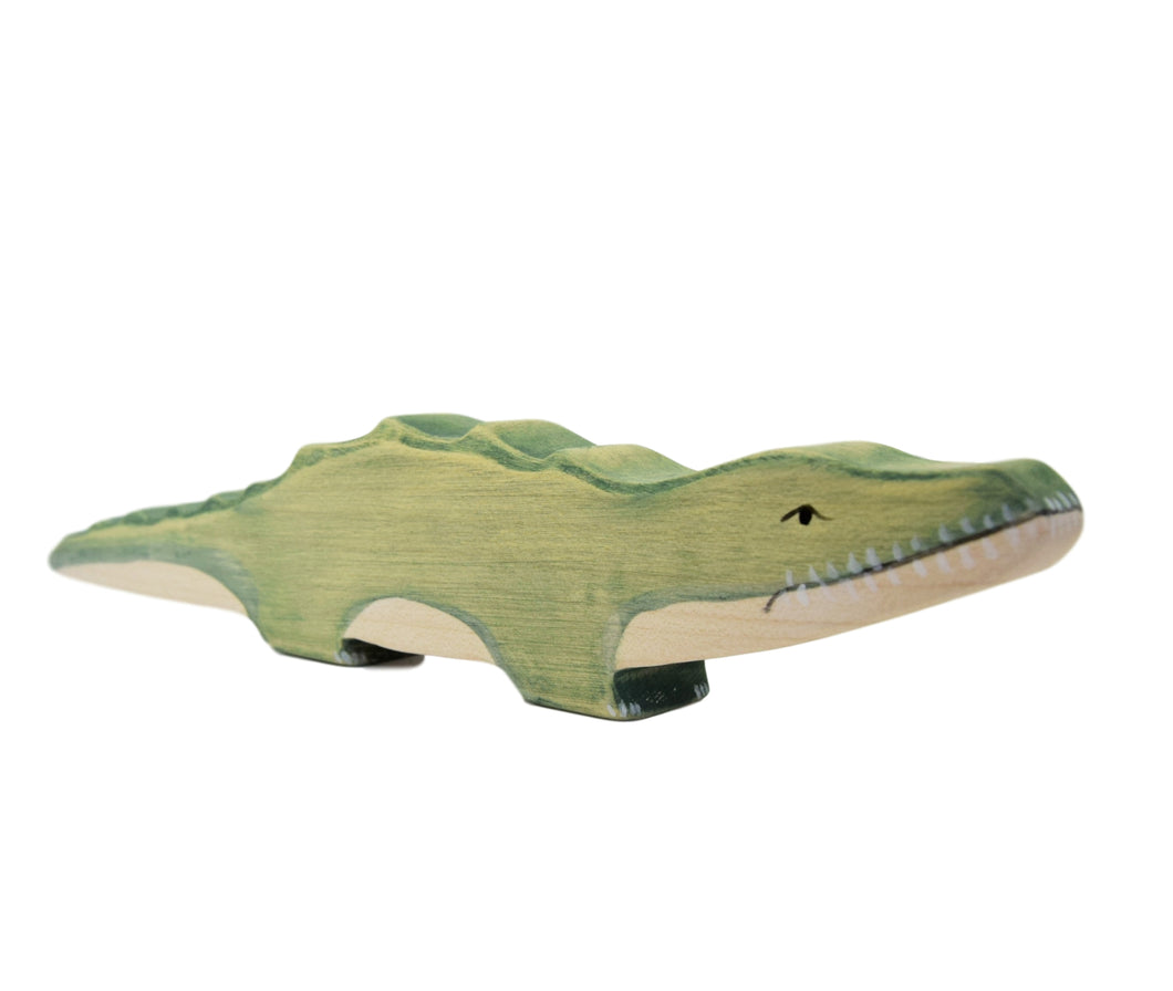 Wooden Crocodile - Eric & Albert