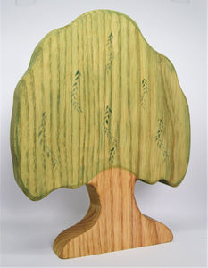 Wooden Willow Tree