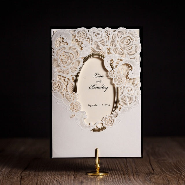 Royal Wedding Invitation Bi-folder