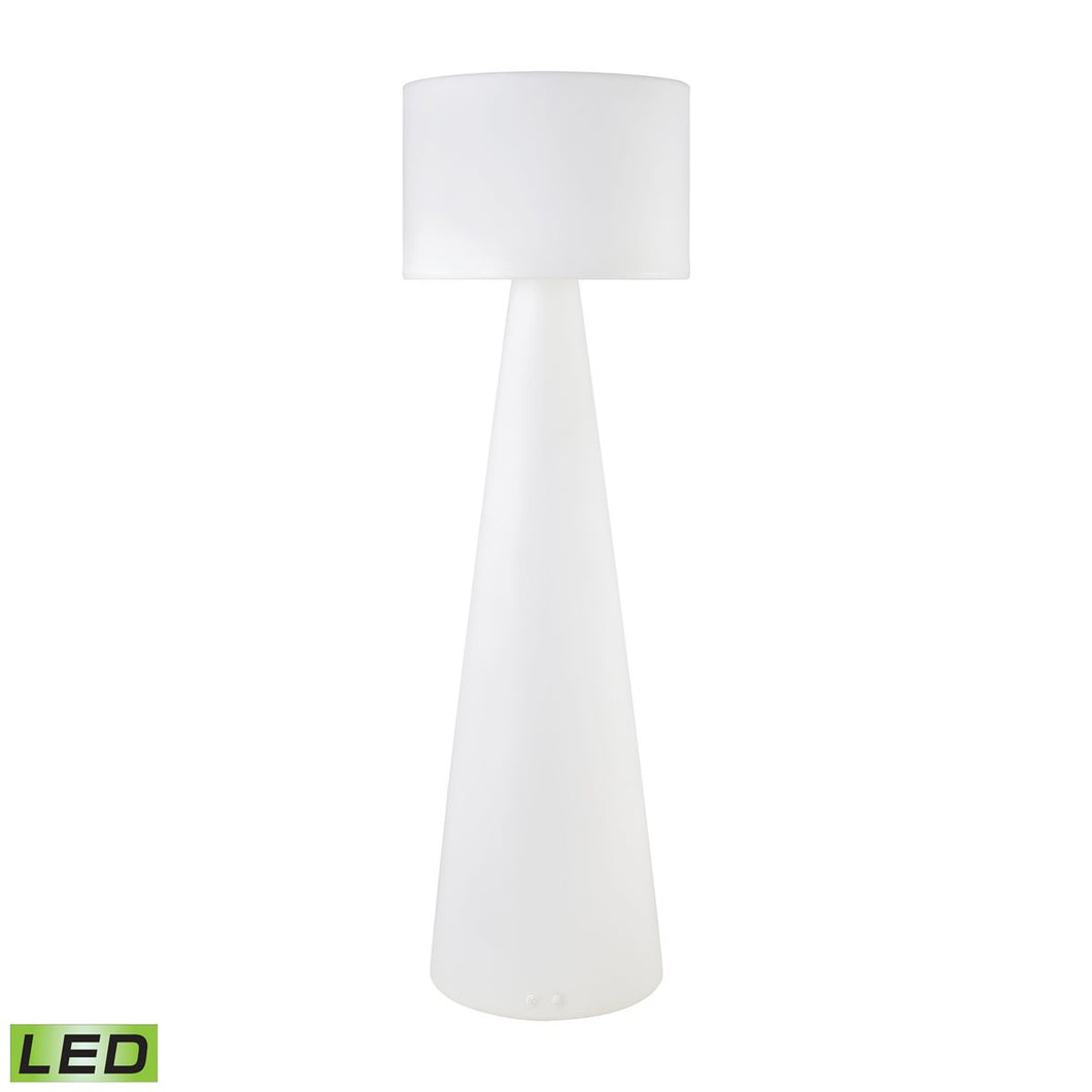 Modern Indoor Outdoor (App Controlled) LED Floor Lamp - Home Again Palm Beach