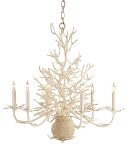 "Currey And Company ""Seaward"" Small Chandelier - Home Again Palm Beach"