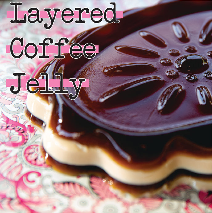 Layered Coffee Jelly