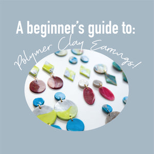 A beginner's guide to Polymer Clay Earrings!