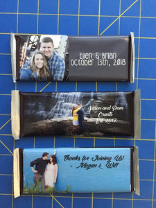 Custom Photo Sports Banquet Favor - Hershey Bar Wrapper - Canoe Place Creative