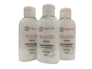 Goat Milk Gentle Hand Sanitiser (50ml/1.76oz) Set of 3