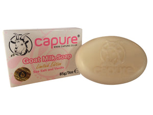 Goat Milk Soap with Sea Salt and Vanilla (Limited Edition)