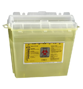 Bemis™ Sentinel 5 Quart Translucent Yellow Horizontal Entry Lid