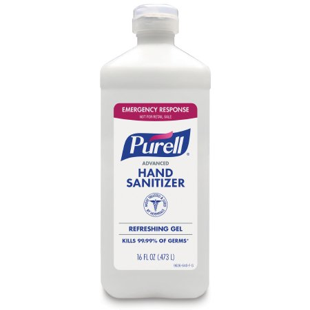 Hand Sanitizer Purell® Advanced 16 oz. Ethyl Alcohol Gel Bottle
