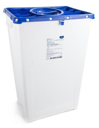 McKesson™ 18 Gallon Blue Pharmaceutical Waste Container McKesson Prevent®