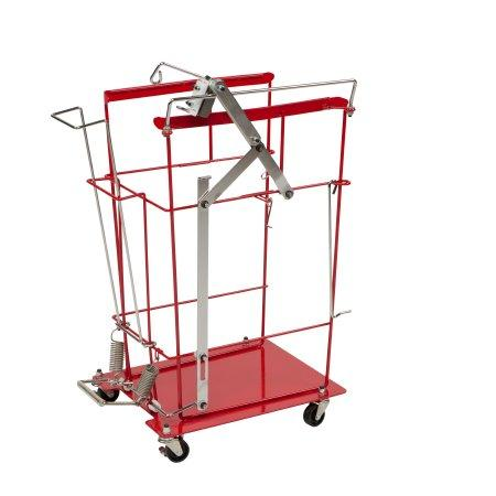 Covidien™ 12 or 18 Gallon Sharps Container Cart SharpsCart™ Hinged Lid
