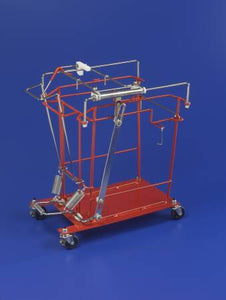 Covidien™ 12 or 18 Gallon Sharps Container Cart SharpsCart™ Sliding Lid