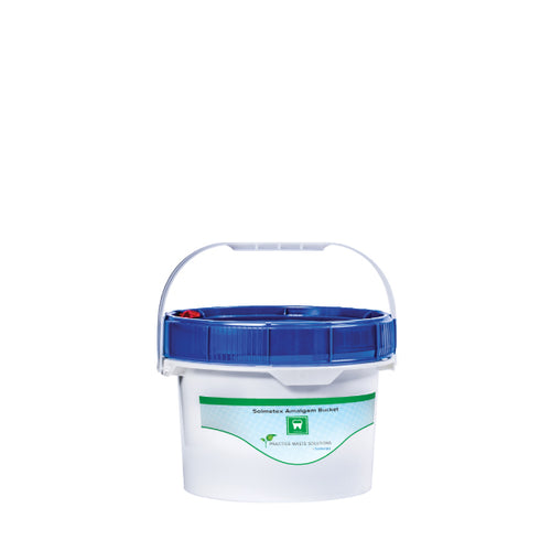 1.25 gallon Dental Amalgam Recycling Bucket