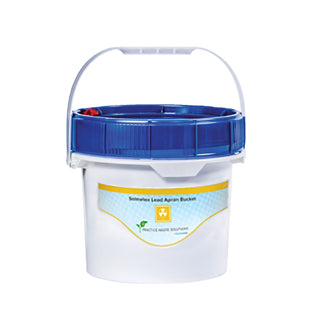 2 gallon Lead Apron Recycling Bucket