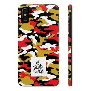 The Bear Champ Camo Tough Phone Case