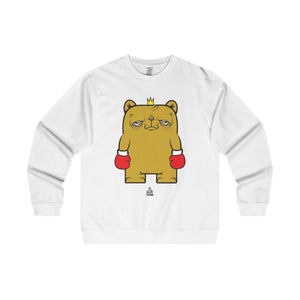 The 'Standing Champ' Midweight Crewneck in White